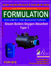 Steam boilers oxygen absorbent type 1
