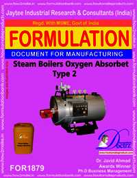 Steam boiler oxygen absorbent type 2