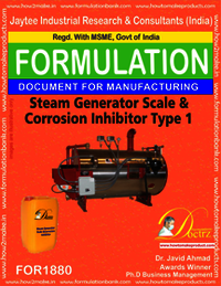 Steam generator scale and corrosion inhibitor type 1