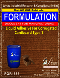 Liquid Adhesive for corrugated board industry 1