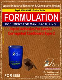 Liquid Adhesive for harder corrugated cardboard 2