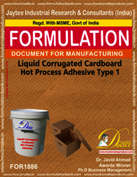 Liquid Corrugated Cardboard Hot Process Adhesive Type 1