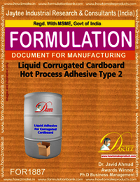 Liquid Corrugated Cardboard Hot Process Adhesive Type 2