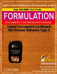 Liquid Corrugated Cardboard Hot Process Adhesive Type 3
