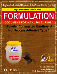 Powder Corrugated Cardboard Hot Process Adhesive Type 1