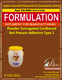 Powder Corrugated Cardboard Hot Process Adhesive Type 2