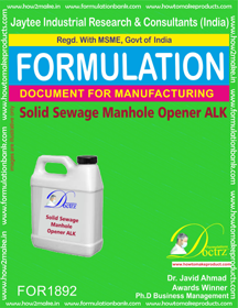 Drains Pipe Cleaner Formulations