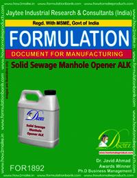 Solid Sewage Manhole Opener ALK