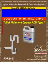Toilet Manhole Opener ACD type 1