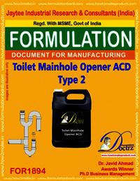 Toilet Manhole Opener ACD type 2