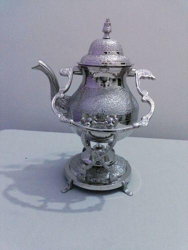 Silver Engrave Tea kettle