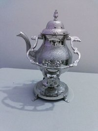 Silver Engrave Tea kettle