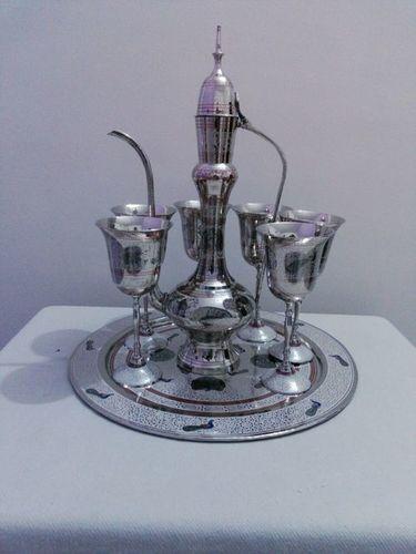 Silver Aftaba Set