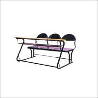 Three Seater School Bench
