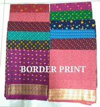 FANCY BLOUSE-BORDER PRINT