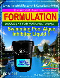 Swimming Pool Algae Inhibitor formula Liquid