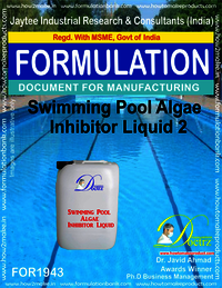Swimming Pool Algae Inhibitor formula Liquid 2