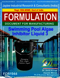 Swimming Pool Algae Inhibitor formula Liquid 3