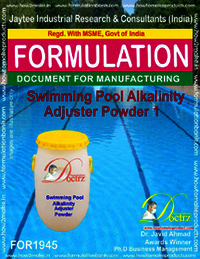 Swimming Pool Alkalinity adjuster Powder 1