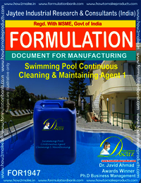 Swimming Pool continuous cleaning and maintenance agent 1