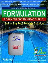 Swimming Pool Polisher solution formula 1