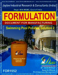 Swimming Pool Polisher solution formula 2