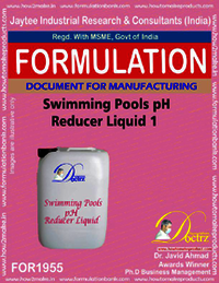 Swimming Pool pH Reducer formulation 1