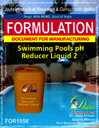 Swimming Pool pH Reducer formulation 2