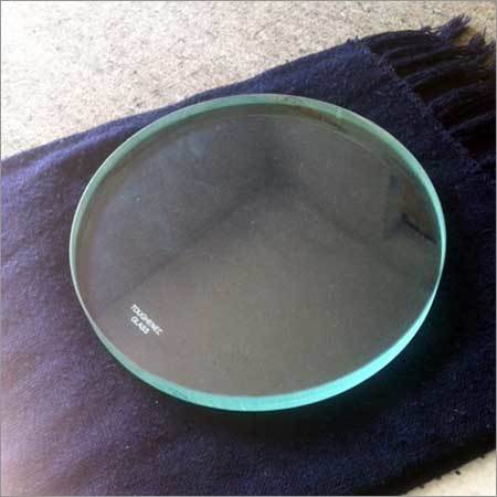 Round Toughened Glass