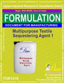 Textile Auxillary Chem Formualtions
