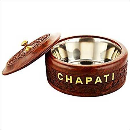 Wooden Chapati Box