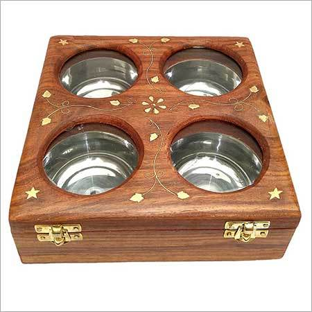 Wooden Dry Fruit Box