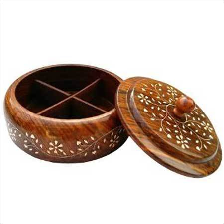 Wooden Spice Box1