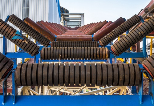 Trough Roller Conveyor