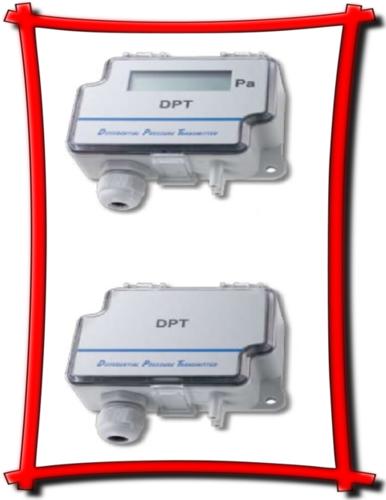 Sensocon USA Differential Pressure Transmitter Series DPT10-R8  - Range  -0.5 - 0.5  inWC