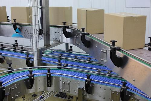 Slat and Modular Belt Conveyor