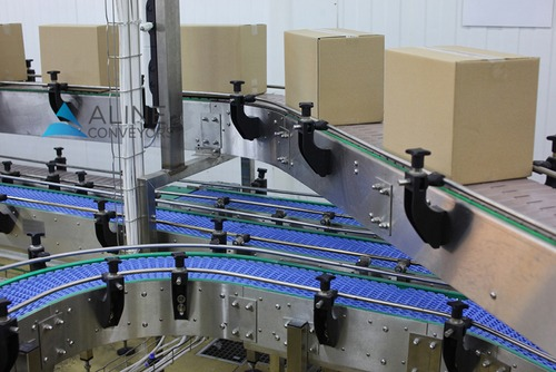 Slat and Modular Belt Conveyor