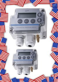 Sensocon USA Differential Pressure Transmitter Series DPT10-R8 - Range 0 - 250 Pa
