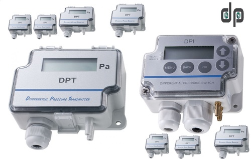 Sensocon USA Series DPT1-R8 - Range -62 - 62 Pa