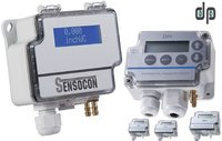 Sensocon USA Differential Pressure Transmitter Series DPT1-R8 - Range  -125 - 125 Pa