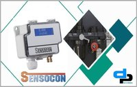 Sensocon USA Differential Pressure Transmitter Series DPT1-R8 - Range  -0.25 - 0.25 mbar