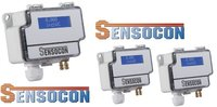 Sensocon USA Differential Pressure Transmitter Series DPT1-R8 - Range  0 - 2.5 mbar