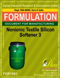 Non-Ionic Textile Silicon Softener Formula Iii