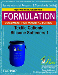 Textile Cationic Silicon Softeners Type 1