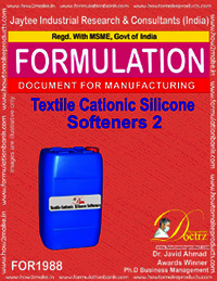 Textile Cationic Silicon Softeners Type 2