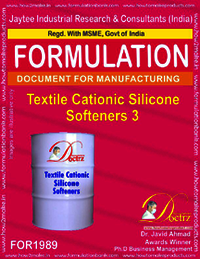 Textile Cationic Silicon Softeners Type 3