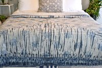 Block Print Dabu Kantha Bed Cover