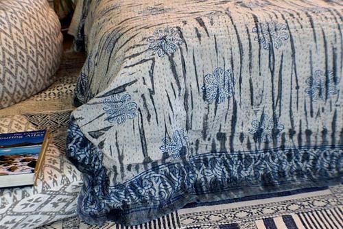 Dabu Printed Cotton Bedsheet