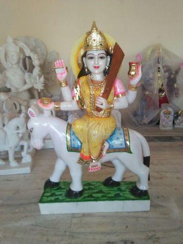 Marble shitala Mata Statue