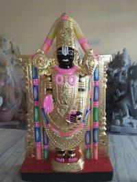 Black Marble Tirupatibalaji Statue